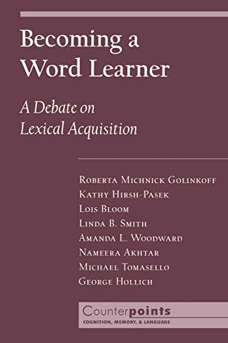 becoming-a-word-learner-a-debate-on-lexical-acquisition-counterpoints-cognition-memory-and-language