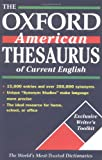 Lindberg, Christine A.: The Oxford American Thesaurus of Current English
