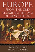 Europe, 1648-1815: From the Old Regime to…