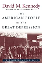The American People in the Great Depression:…