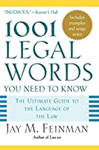 1001 Legal Words You Need to Know: The…