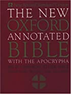 The new Oxford annotated Bible with the…