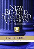 Not Available: Holy Bible: New Revised Standard Version, Black Genuine Leather With Apocrypha