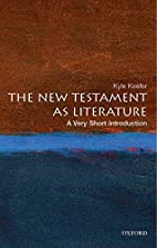 The New Testament as Literature: A Very…