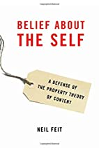 Belief about the Self: A Defense of the…