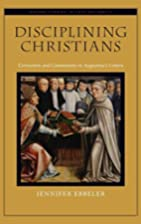 Disciplining Christians : correction and…