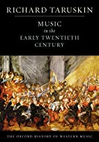Music in the Early Twentieth Century: The…