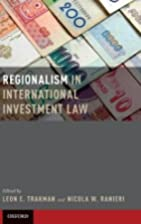 Regionalism in International Investment Law…