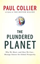 The Plundered Planet: Why We Must--and How…