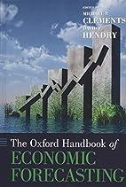 The Oxford Handbook of Economic Forecasting…