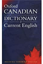 Canadian Oxford Dictionary of Current…