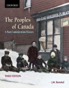 The Peoples of Canada: A Post-Confederation…