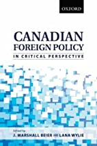 Canadian Foreign Policy in Critical…