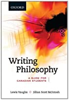 Writing Philosophy: A Guide for Canadian…