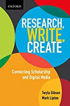 Research, Write, Create: Connecting…