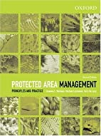 Protected Area Management: Principles and…