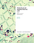 Principles of Administrative Law, Second…