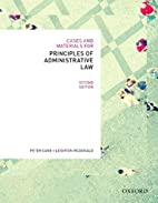 Cases & Materials for Principles of…