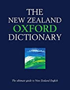 The New Zealand Oxford Dictionary by Graeme…