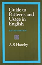 A Guide to Patterns and Usage in English by…