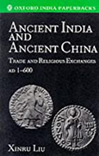 Ancient India and ancient China : trade and…