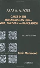Cases in the Muhammadan Law of India,…