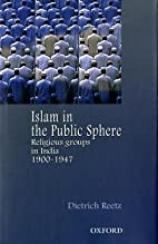 Islam in the Public Sphere: Religious Groups…