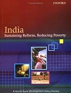 India: Sustaining Reform, Reducing Poverty…