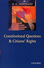 Constitutional Questions and Citizens'…