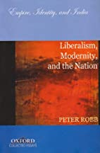 Liberalism, modernity, and the nation by…