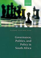 Governance, politics, and policy in South…