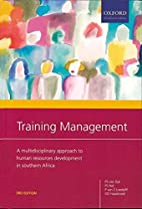 Training Management: A Multi-disciplinary…