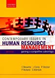Brewster: Contemporary Issues in Human Resource Management: Gaining a Competitive Advantage (Oxford Southern Africa)