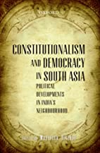 Constitutionalism and Democracy in South…