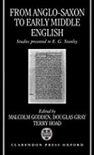 From Anglo-Saxon to Early Middle English:…