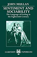 Sentiment and Sociability: The Language of…