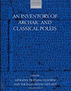 An inventory of archaic and classical poleis…