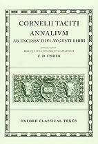 Annales I-VI, XI-XVI (Oxford Classical Texts…