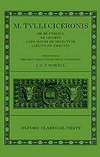 M. Tullius Ciceronis De Re Publica, De…