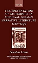 The presentation of authorship in medieval…