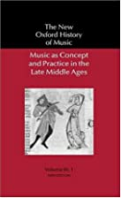 Music As Concept and Practice in the Late…