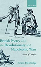 British Poetry and the Revolutionary and…