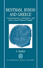 Bentham, Byron, and Greece:…