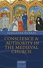 Conscience and authority in the medieval…