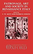 Patronage, art, and society in Renaissance…
