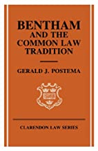 Bentham and the Common Law Tradition…