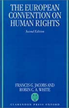 The European Convention on Human Rights by…