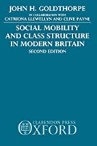 Social Mobility and Class Structure in…