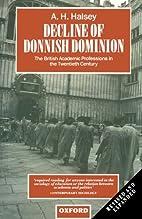 Decline of Donnish Dominion: The British…