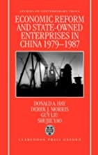 Economic Reform and State-Owned Enterprises…